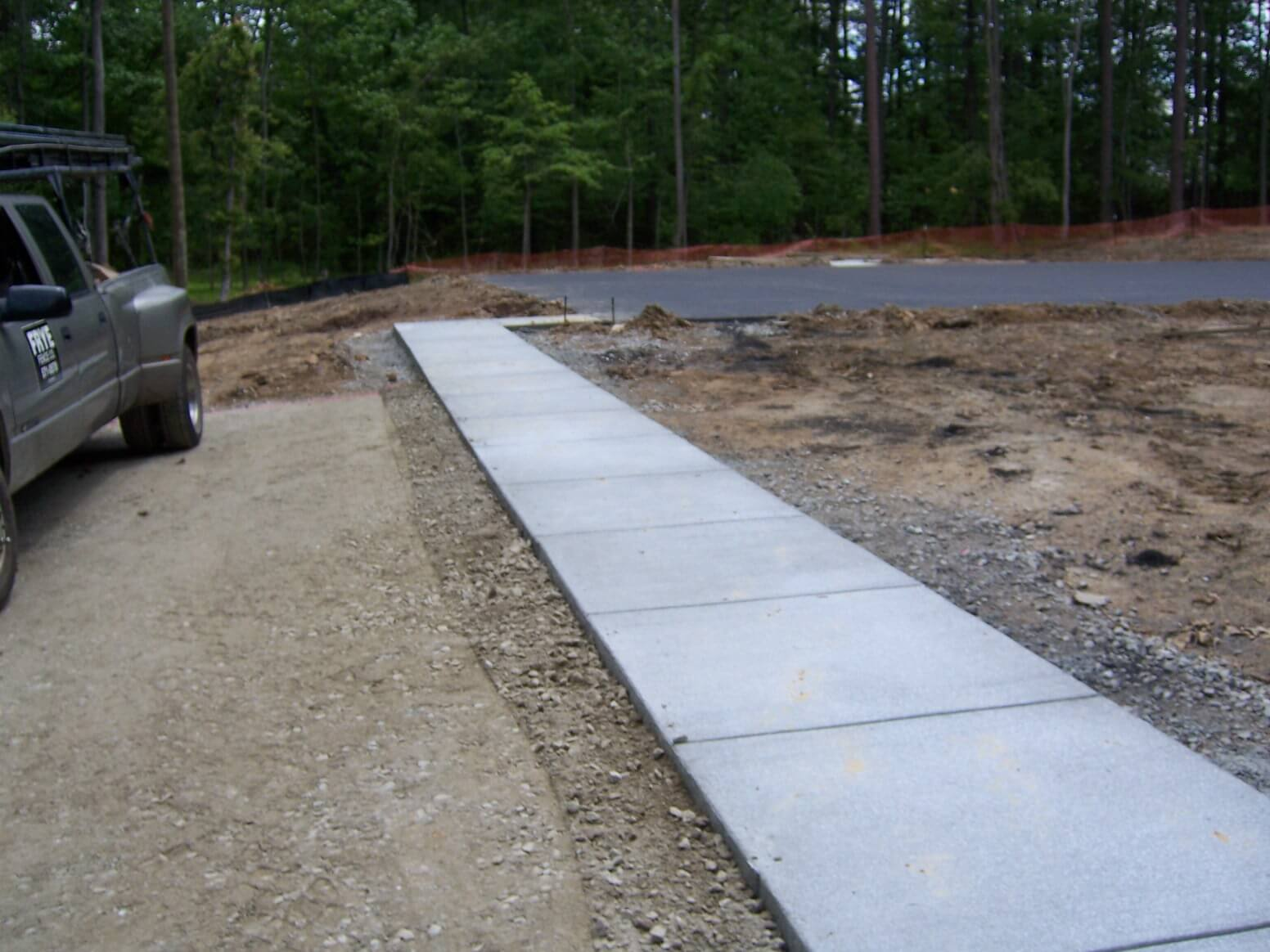 Decorative concrete raleigh raleigh paving contractor for Removing concrete walkway