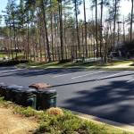 Raleigh Paving Sealcoating job at Jordan Lake