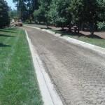 Paving new street