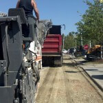 Removing old asphalt