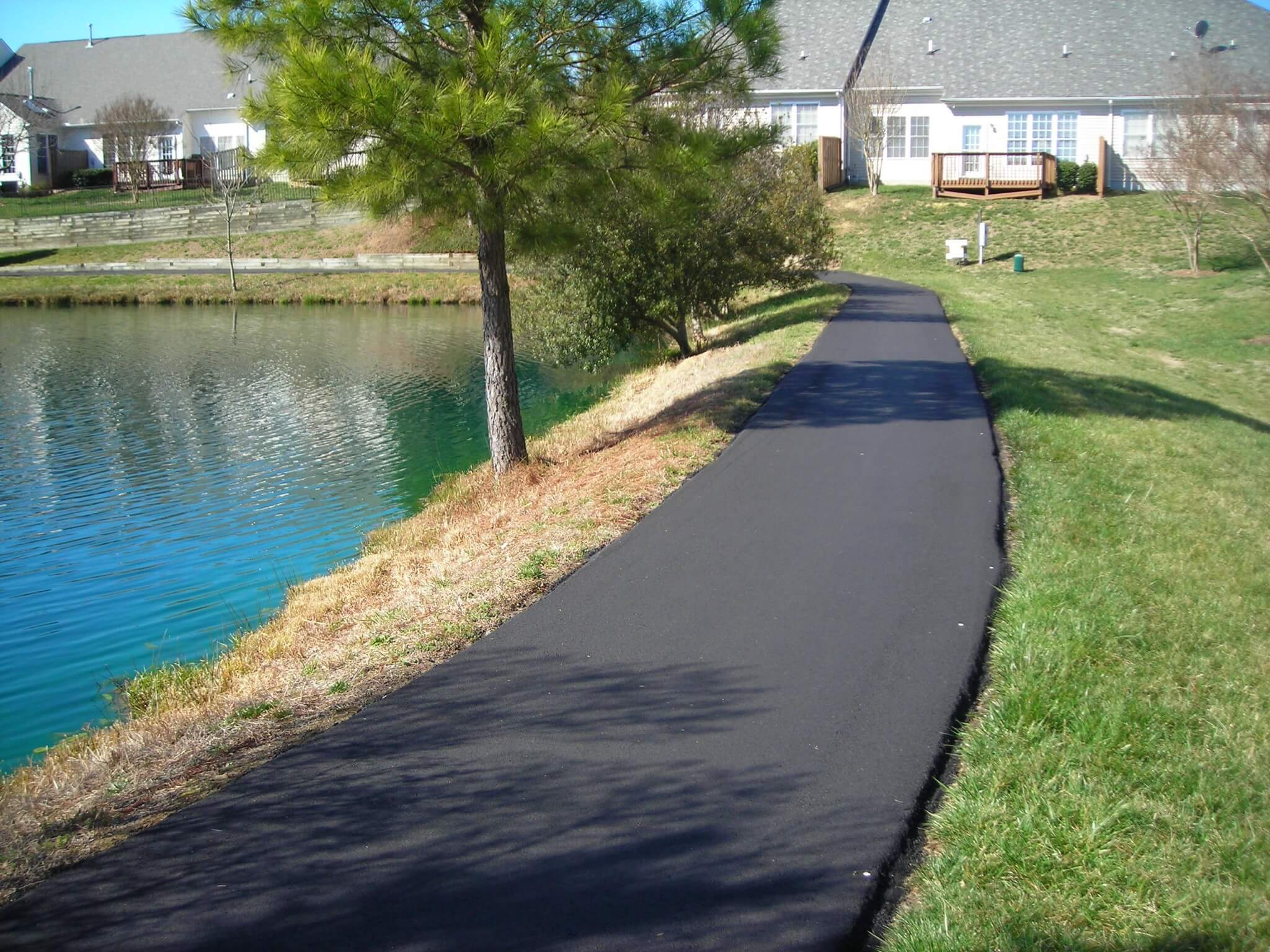 Walkway Amp Trail Paving Raleigh Raleigh Paving Contractor Nc