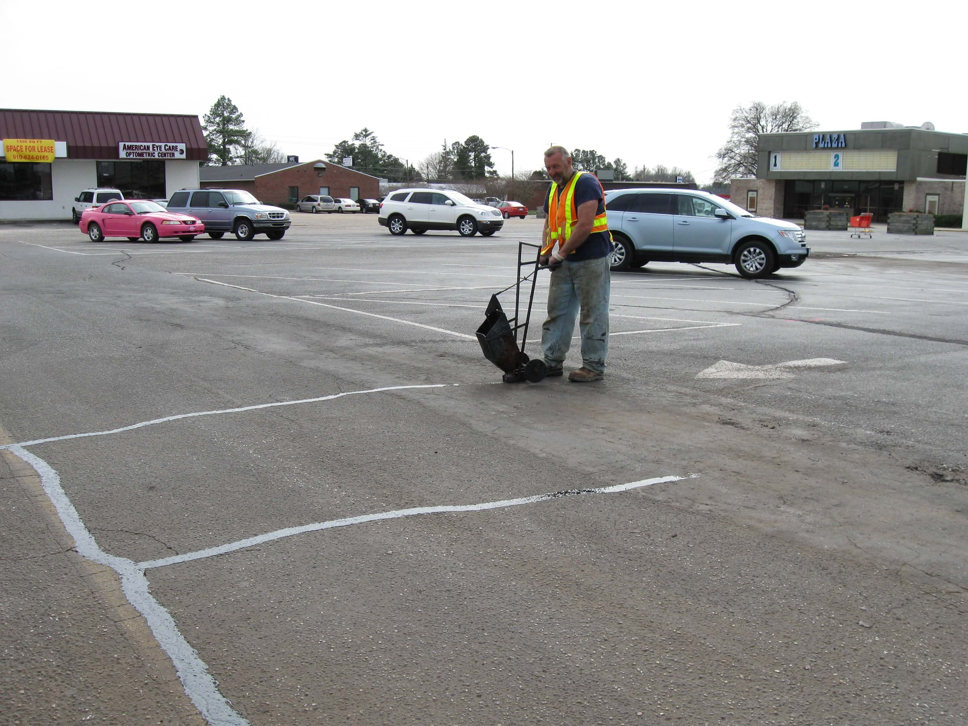 Asphalt Amp Parking Lot Crack Filling Raleigh Paving Repairs