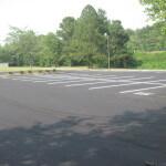 Parking lot spots