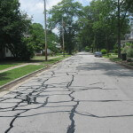 Resealed street