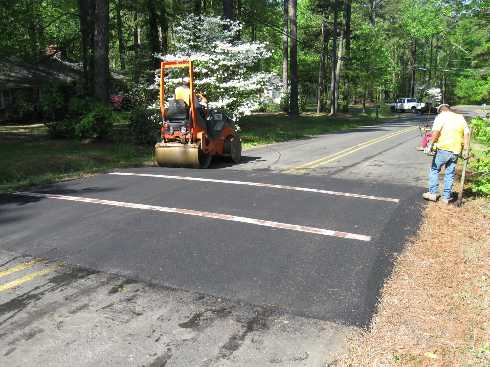 Speed Bump Paving Raleigh | Speed Table Paving NC